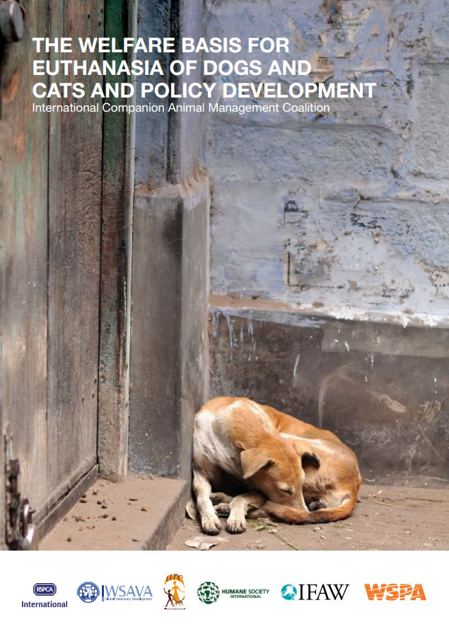 The welfare basis for the euthanasia of dogs and cats and policy development