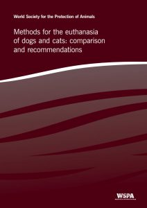 Methods for the euthanasia of dogs and cats